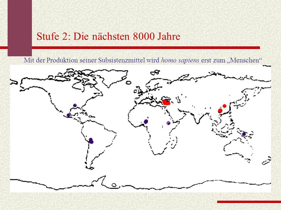 Stufe 2: Die nächsten 8000 Jahre