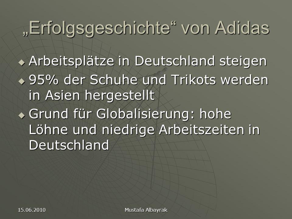 """""""Erfolgsgeschichte von Adidas"""