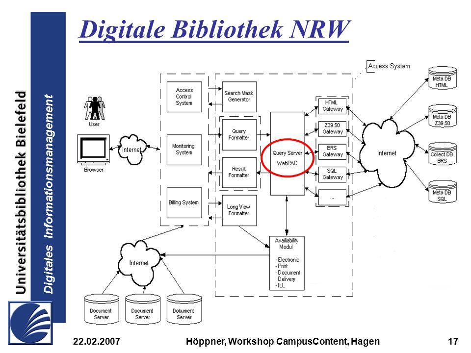 Digitale Bibliothek NRW