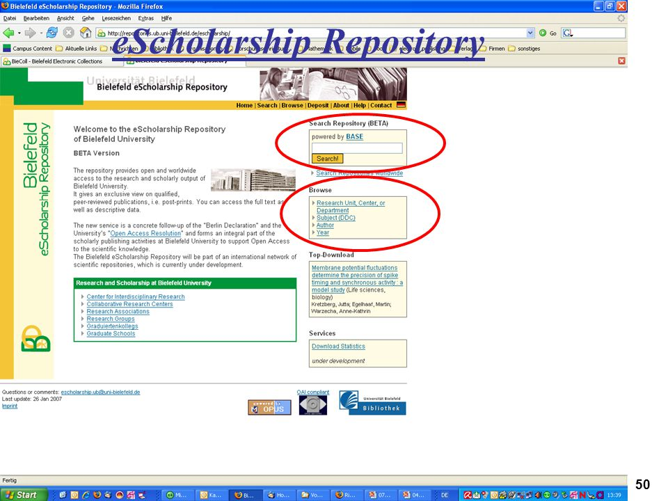 eScholarship Repository