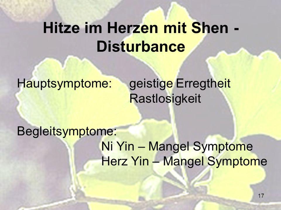 Hitze im Herzen mit Shen - Disturbance