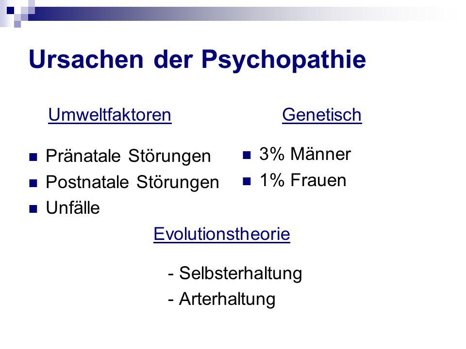 Ursachen der Psychopathie
