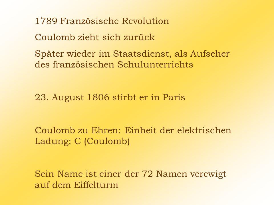 1789 Französische Revolution