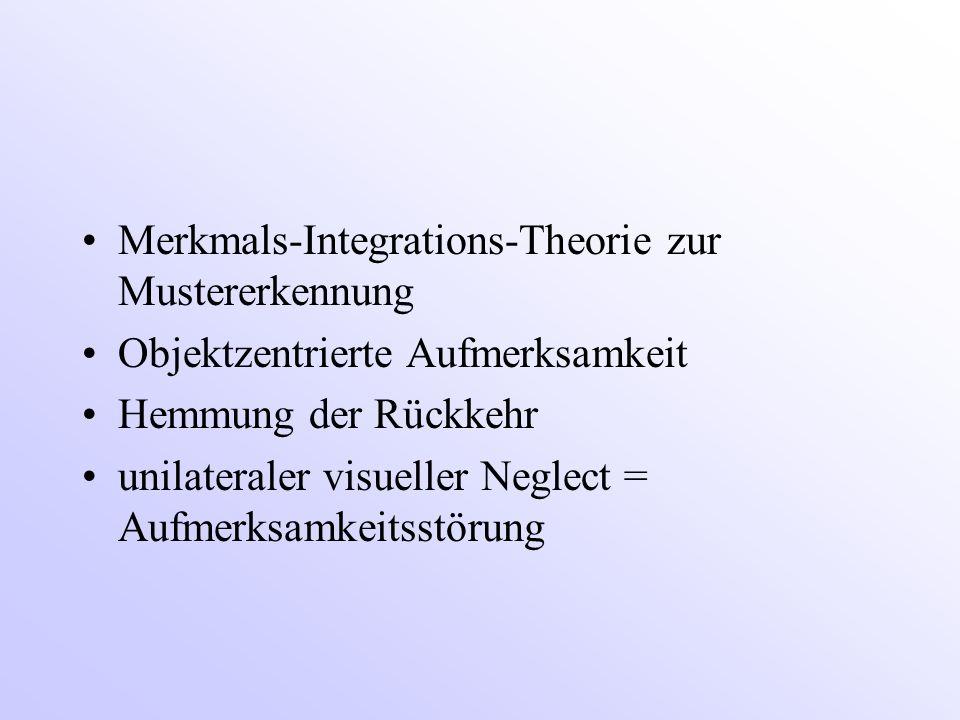 Merkmals-Integrations-Theorie zur Mustererkennung