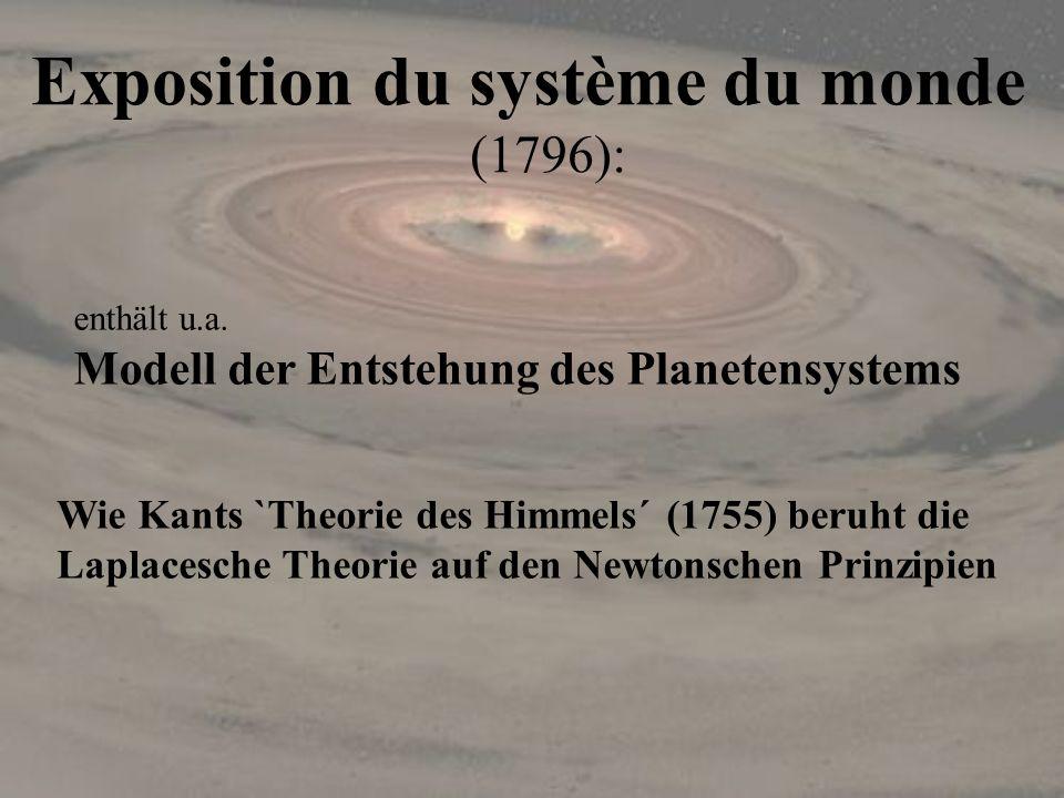 Exposition du système du monde (1796):