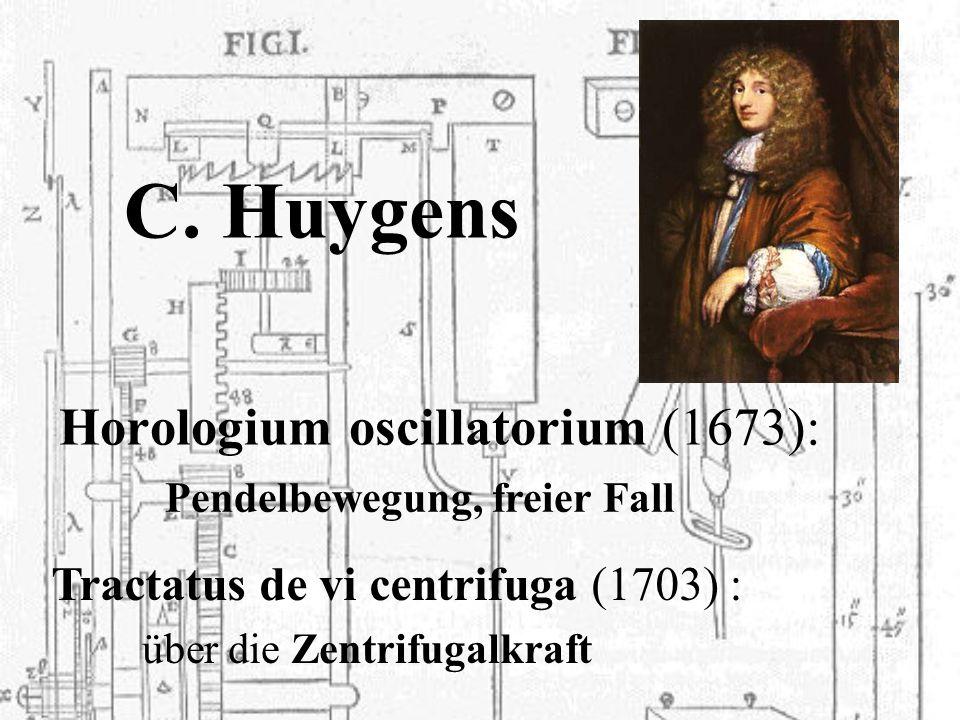 C. Huygens Horologium oscillatorium (1673):