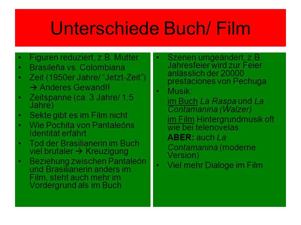 Unterschiede Buch/ Film