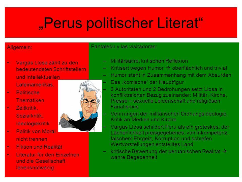 """""""Perus politischer Literat"""