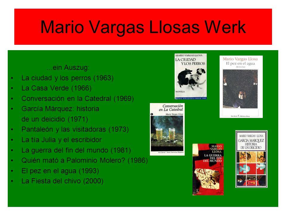 Mario Vargas Llosas Werk