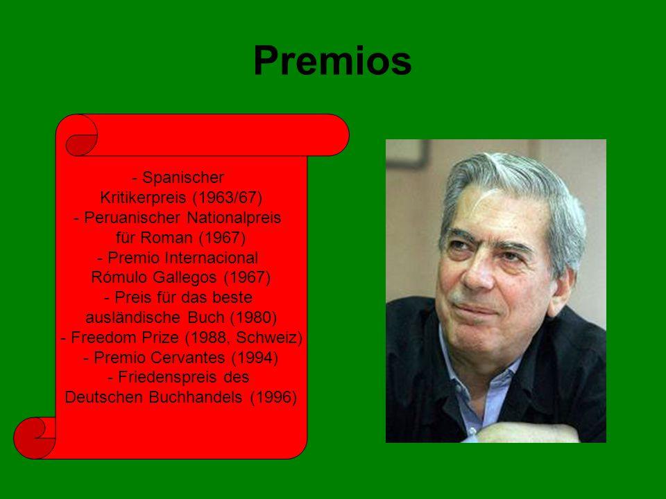 Premios - Spanischer Kritikerpreis (1963/67)