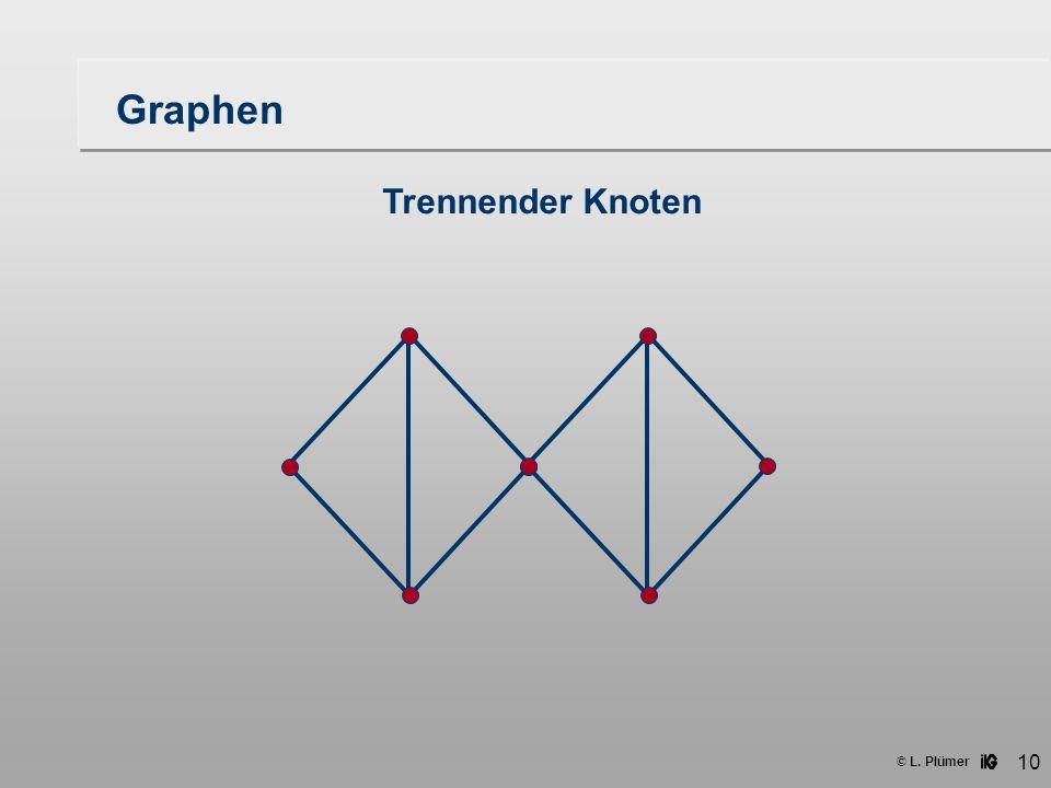 Graphen Trennender Knoten