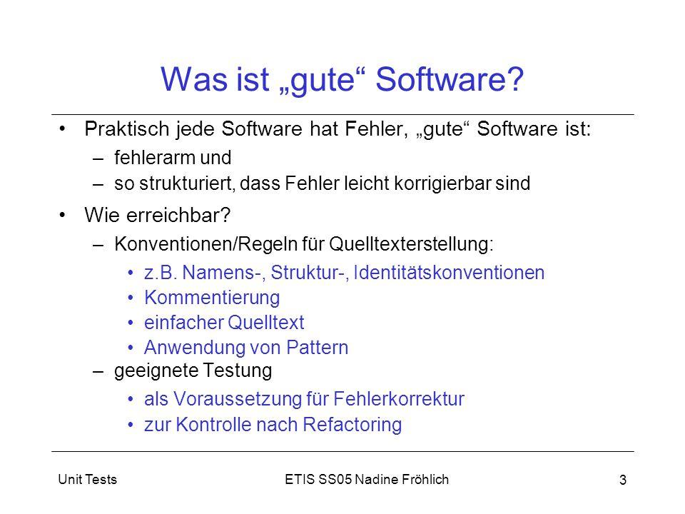 """Was ist """"gute Software"""