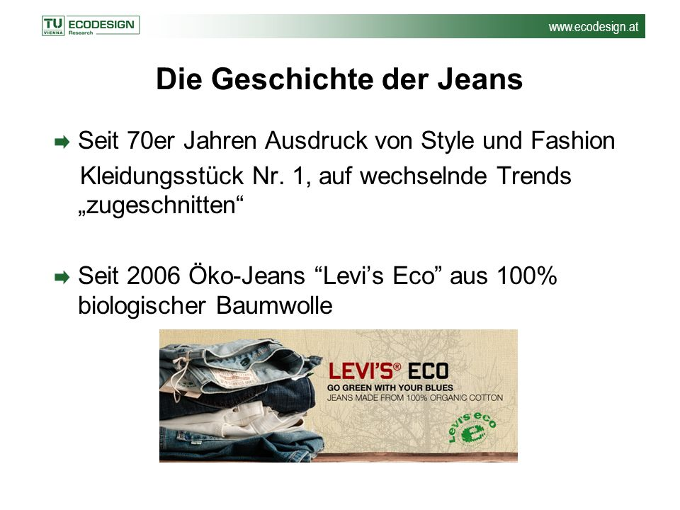 Die Geschichte der Jeans