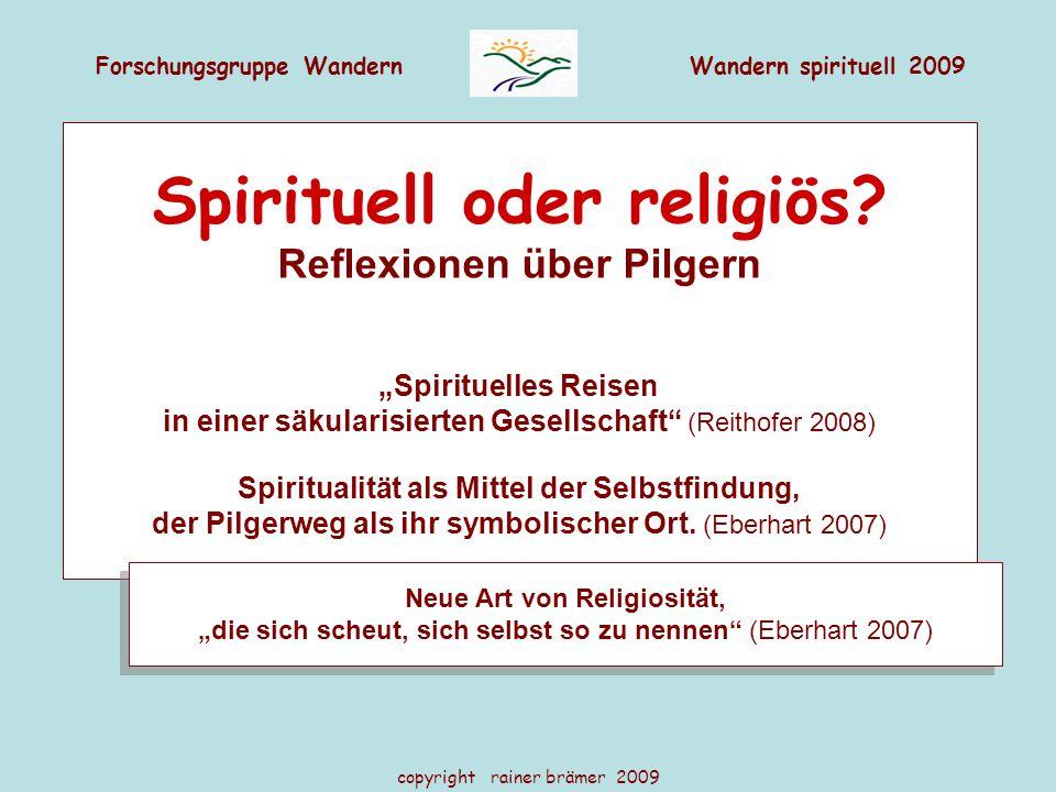Spirituell oder religiös