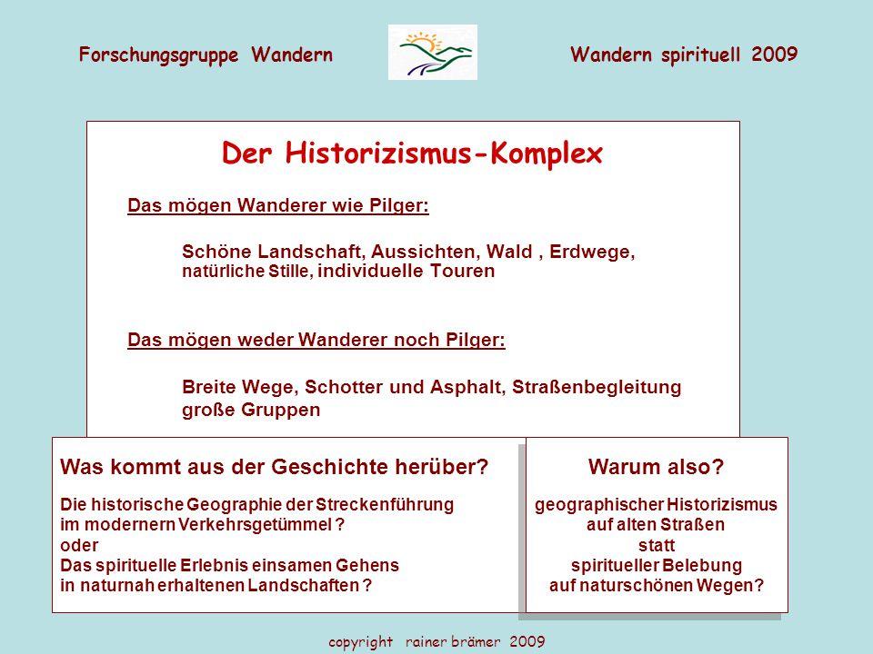 Der Historizismus-Komplex