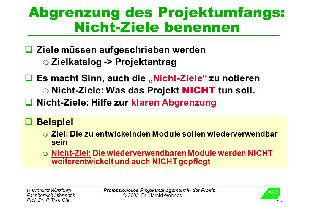 Professionelles Projekt-Management in der Praxis - ppt video online ...
