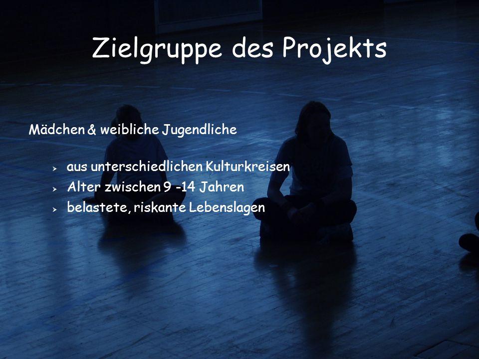 Zielgruppe des Projekts