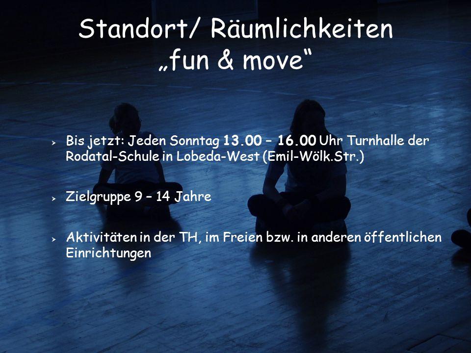 """Standort/ Räumlichkeiten """"fun & move"""