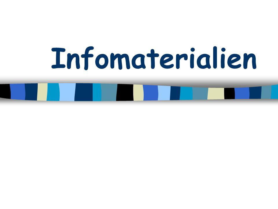 Infomaterialien