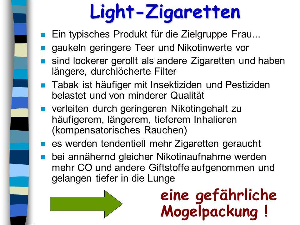 typische light produkte