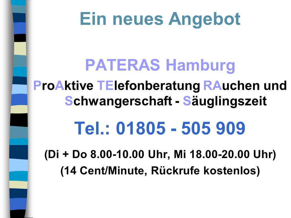 Ein neues Angebot Tel.: 01805 - 505 909