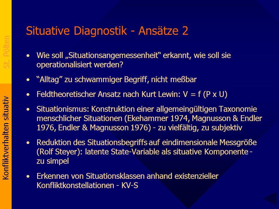 Situative Diagnostik - Ansätze 2