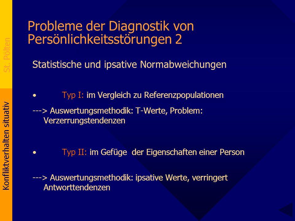 Probleme der Diagnostik von Persönlichkeitsstörungen 2