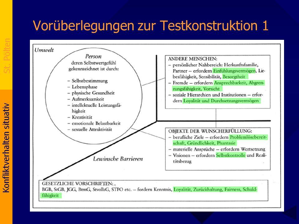 Vorüberlegungen zur Testkonstruktion 1
