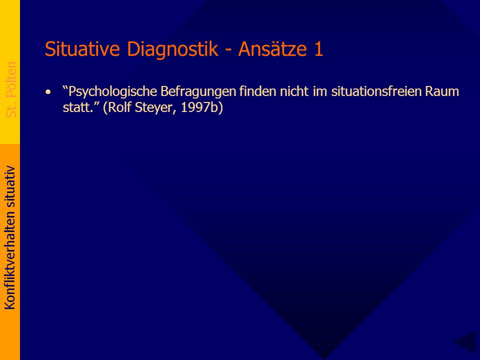 Situative Diagnostik - Ansätze 1