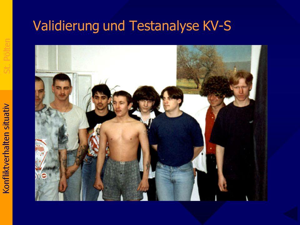 Validierung und Testanalyse KV-S