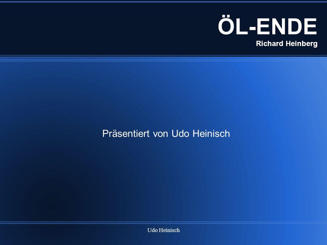 ÖL-ENDE Richard Heinberg