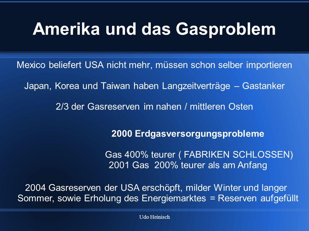 Amerika und das Gasproblem