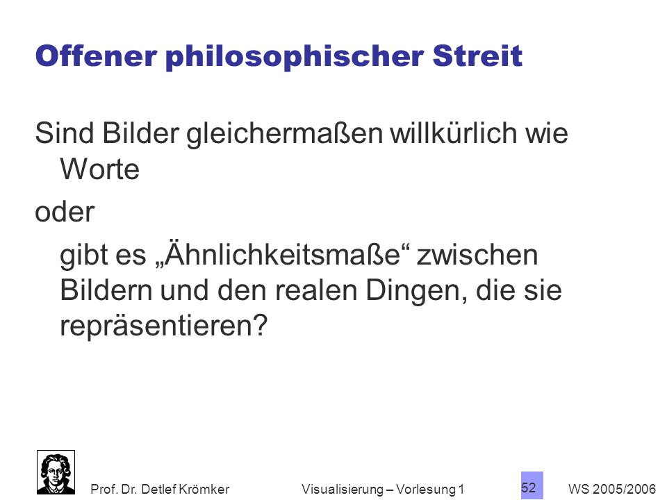 Offener philosophischer Streit