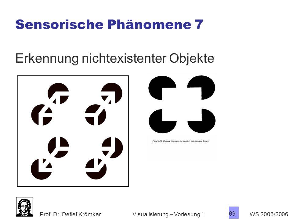 Sensorische Phänomene 7