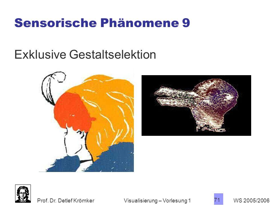Sensorische Phänomene 9