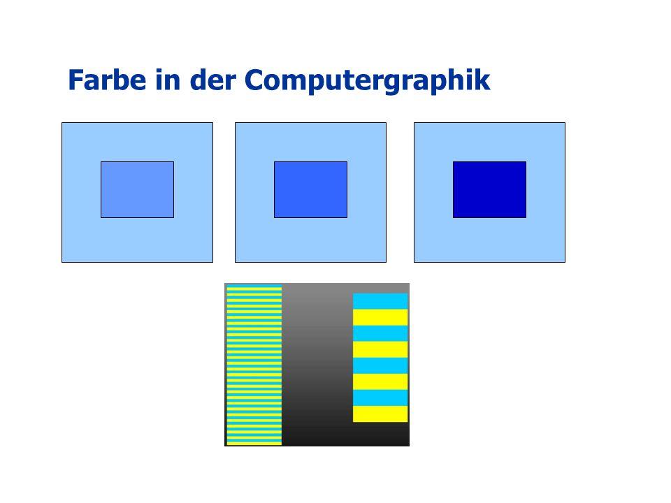 Farbe in der Computergraphik