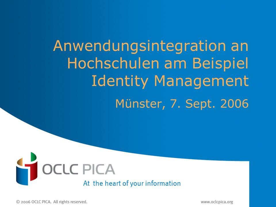 Anwendungsintegration an Hochschulen am Beispiel Identity Management