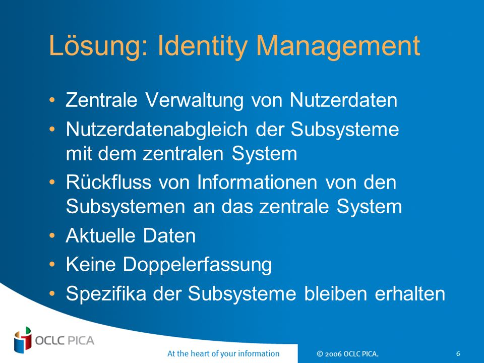 Lösung: Identity Management