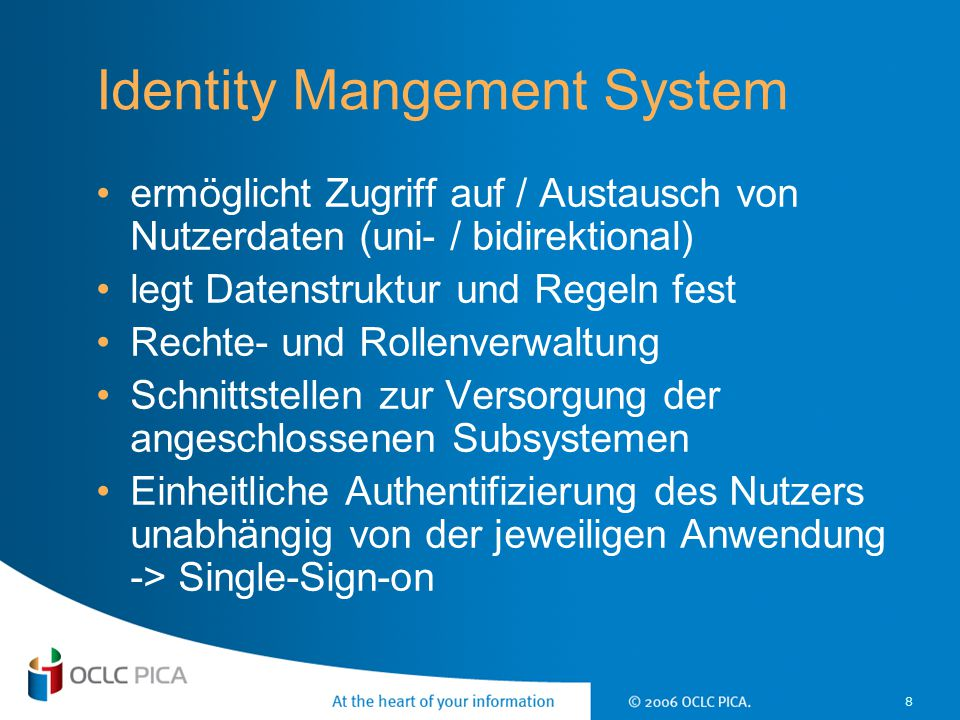 Identity Mangement System