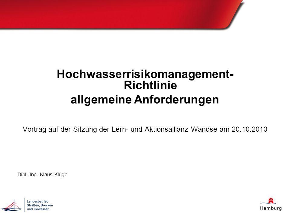 Hochwasserrisikomanagement- Richtlinie