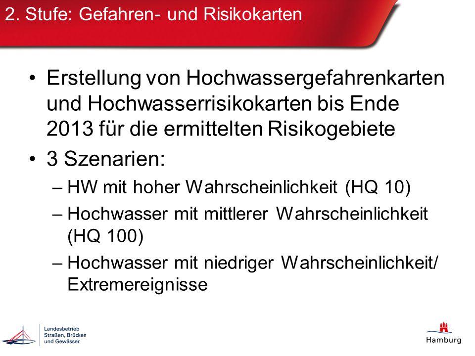 2. Stufe: Gefahren- und Risikokarten