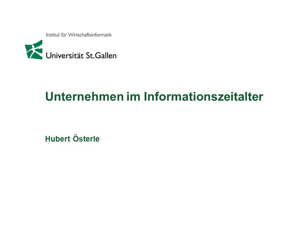 Unternehmen im Informationszeitalter