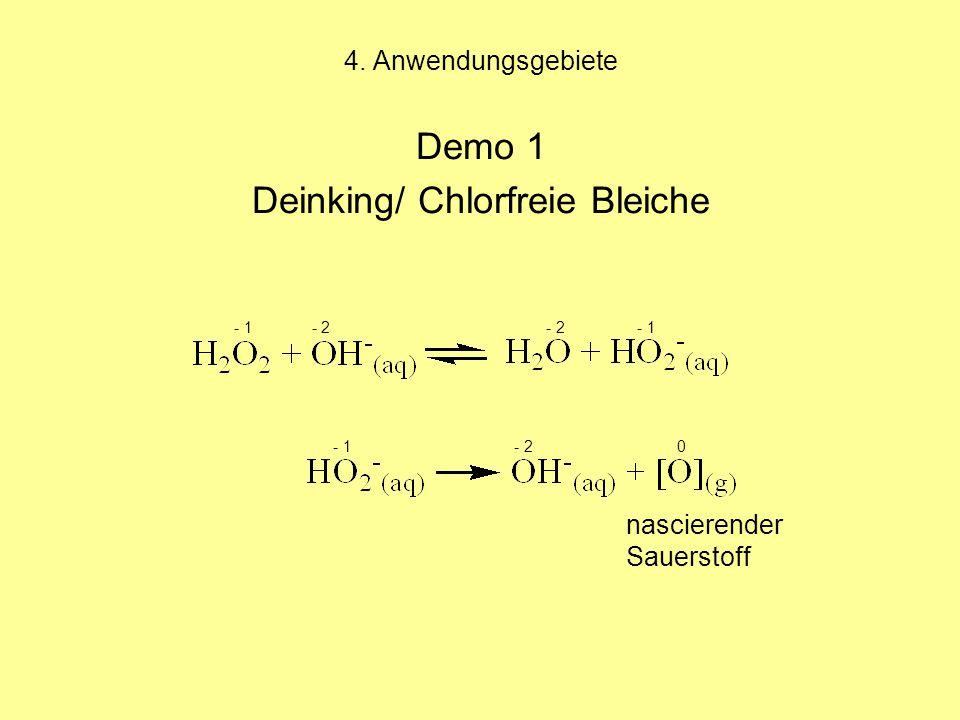 Deinking/ Chlorfreie Bleiche