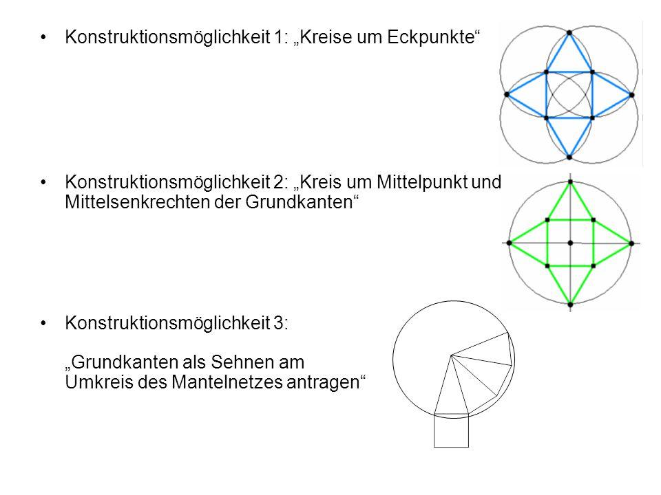 """Konstruktionsmöglichkeit 1: """"Kreise um Eckpunkte"""