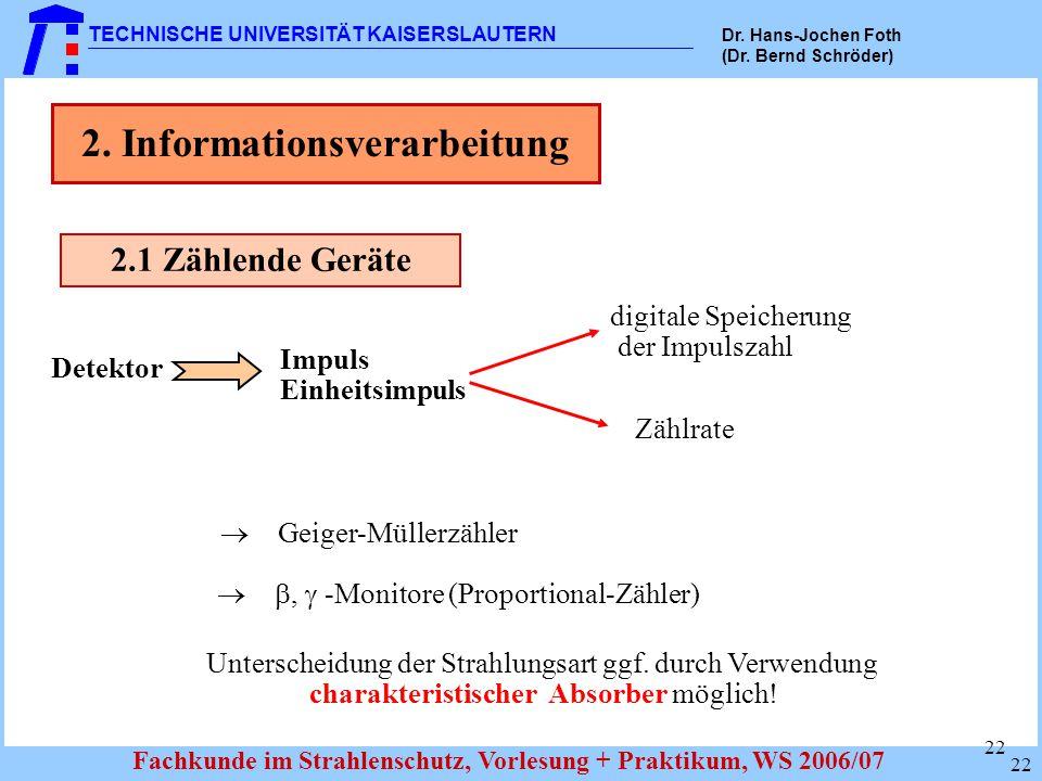 2. Informationsverarbeitung