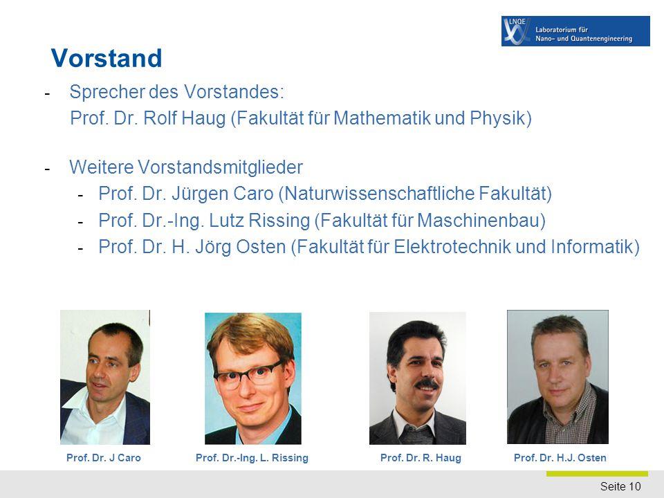 Forschung Quanten-, Bio- und Nanoengineering Mechanik/Magnetik