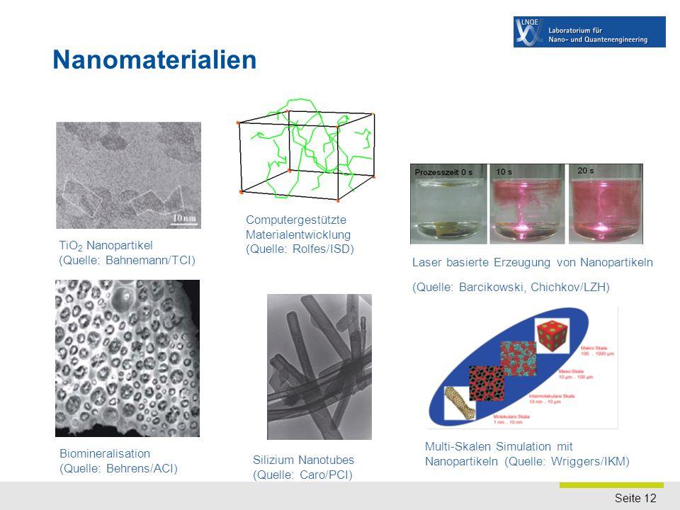 Nanoelektronik MBE-Wachstum von Germanium auf Silizium (Quelle: Hofmann/MBE) Spintronik. (Quelle: Oestreich/FKP)