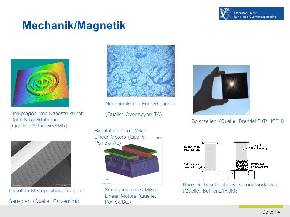 Quanten-, Bio- und Nanoengineering