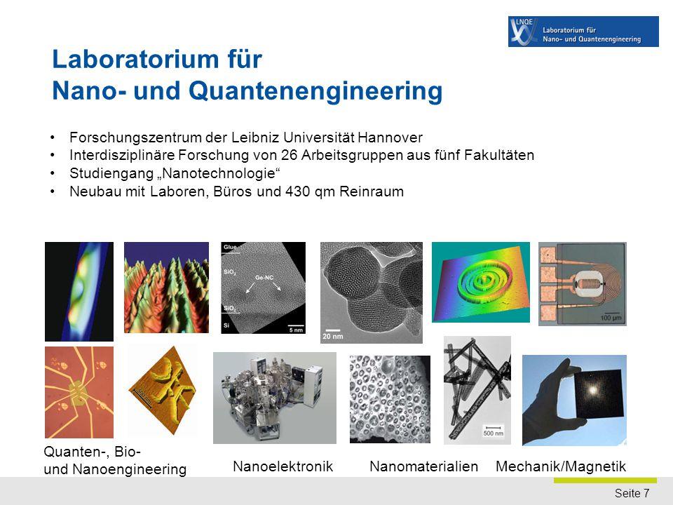 Was ist das LNQE Forschungszentrum der Leibniz Universität Hannover