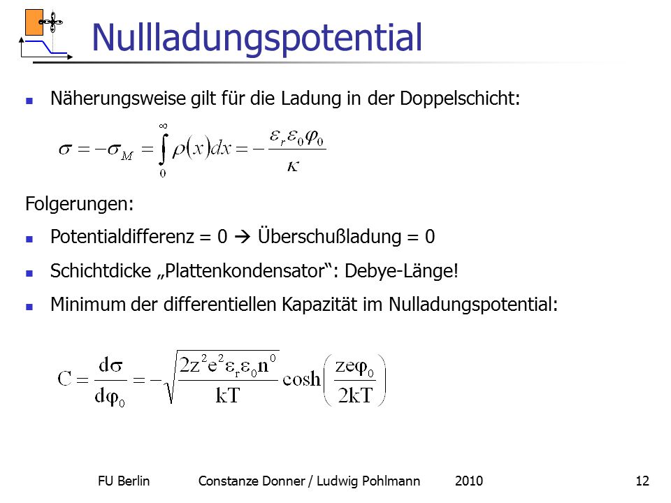 Nullladungspotential
